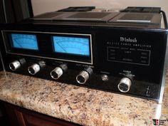 Mcintosh MC-2125 Amplifier & Mcintosh C-28 Pre-Amp + wood cabinets (please read description) Photo #664503 - Canuck Audio Mart