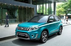 Suzuki Vitara Photos and Specs. Photo: Suzuki Vitara specs and 25 perfect photos of Suzuki Vitara Small Suv, Small Cars, Volvo, Suzuki News, Grand Vitara, Japanese Cars, Car Wallpapers, 2015 Wallpaper, Car In The World
