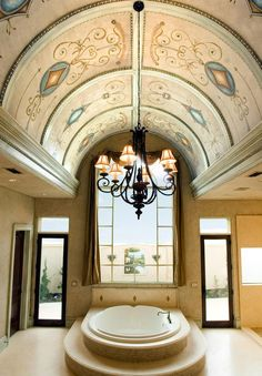 Ceiling:Archway Molding Kit Barrel Ceiling Entry Groin Vault Ceiling Framing A Vault Springs From A(n) , Which Is Supported By Both A Solid Wall And Four Columns. Barrel Ceiling Entry, Barrel Vault Ceiling, Ceiling Decor, Ceiling Design, Ceiling Ideas, Custom Home Builders, Custom Homes, Archway Molding, Ceiling Painting
