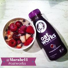 How did our fan @marabel4 pair her Oatworks this morning? With a side of oatmeal of course! #OatsForLife