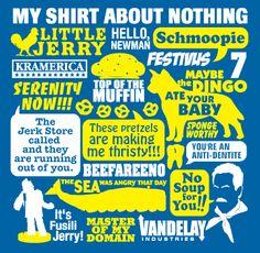 The Ultimate Seinfeld Shirt - seinfeld Fan Art