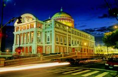 Teatro Amazonas - Manaus - AM (cidade onde nasci)