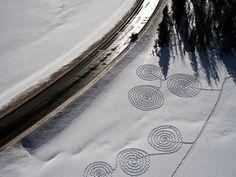 By Steamboataerials  Cedar Beauregard/ snow circles