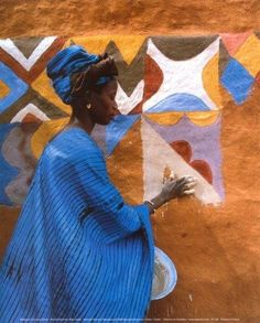 Soninke Woman, Mauritania, Africa photo by Margaret...