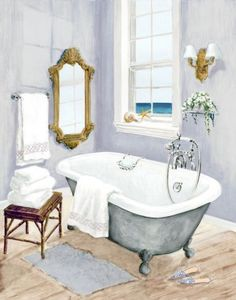 Coastal Bath I (Jocelyn Haybittel)