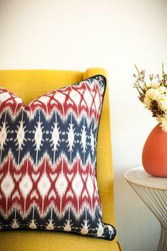 ROYAL REGATTA Color Splash, Vibrant, Cushions, Colours, Throw Pillows, Handmade, Design, Toss Pillows, Toss Pillows