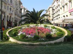 Clock in Thessaloniki, Greece