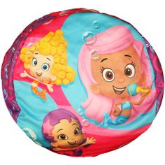 Nickelodeon Bubble Guppies That's Silly Girls' Bean Bag: Toddler : Walmart.com