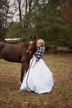 Love the horse AND plaid shirt! Adorable.
