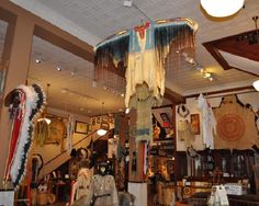 If you're looking for Native American or western décor, be sure to stop in to Prairie Edge Trading Company while you explore Downtown Rapid City!