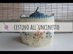 Come fare cestino all'uncinetto - video tutorial - YouTube Dou Dou, Tutorial, Video, Crochet Hats, Youtube, Amigurumi, Knitting Hats, Youtubers, Youtube Movies