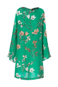 DRESS WITH CUT-OUT SLEEVES - Dresses - Woman - ZARA United Kingdom
