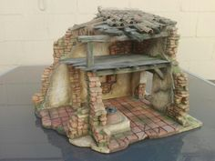 Foro de Belenismo - Arquitectura y paisaje -> Casa Pesebre Xmas Crafts, Diy Crafts, Christmas Nativity Scene, Nativity Scenes, Art Portfolio, Cribs, Projects To Try, Decorative Boxes, Christmas Decorations