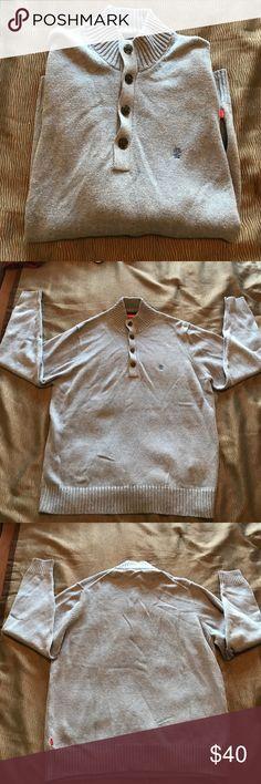 Izod quarter button sweater Brand new, never worn izod quarter button sweater. Izod Sweaters