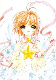 Sakura-chan by Sakura Card Captor Cardcaptor Sakura, Sakura Sakura, Dreamworks, Sakura Card Captors, Manga Anime, Xxxholic, Clear Card, Magical Girl, Book Art