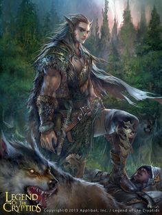 Artist: Feng Guo aka georgeguo - Title: reg - Card: Unknown, Legend of the Cryptids