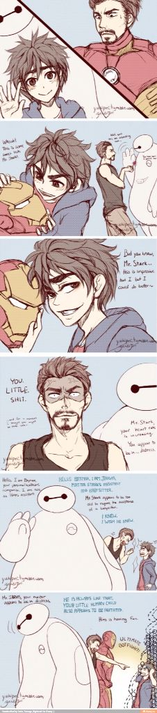 Don't let Hro meet Tony they'll fight probably