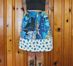 Star Wars Blue Strawberry Polka Dot Skirt one size fits most ~ Small Medium Large ~ by DixieBloom on Etsy https://www.etsy.com/listing/230057974/star-wars-blue-strawberry-polka-dot