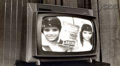 Televisão antiga.