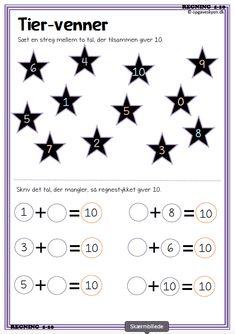 matematikopgaver, matematik matematik indskoling, plus minus - Mathe Ideen 2020 Preschool Number Worksheets, Numbers Preschool, Preschool Activities, Math Pages, Math Sheets, Kids Calendar, Math Fractions, Classroom Fun, Math For Kids