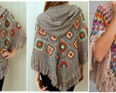 How To Crochet a Cloak – Poncho.