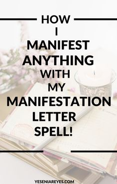 Today iIm going to show you my step by step process on how to write a manifestation letter to the universe! It's super simple and incredibly powerful! Manifestation Journal, Manifestation Law Of Attraction, Law Of Attraction Affirmations, Law Of Attraction Quotes, Daily Positive Affirmations, Money Affirmations, Relationship Advice Quotes, Soul Healing, Manifesting Money