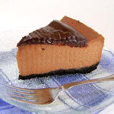 One Perfect Bite: Triple-Chocolate Cheese Cake