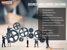 #DigiLantern's #BusinessIntelligence architecture is a framework which helps organizing the data, information management and technology components that are used to build business intelligence systems for reporting and #DataAnalytics. Business intelligence helps organization achieve commercial success along with sound financial management.