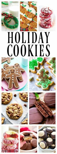 50 of the Best Holiday Cookies that need to be devoured this Christmas season. Bake up a batch or two and start spreading some holiday {cookie} cheer. #christmascookies #cookies #christmasrecipes #christmas #cookie #bake #holidayfood #holidaycooking #christmascooking