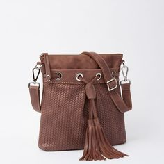 French Tassel Tribe | Leather Handbags, Shoulder Bags | Roots