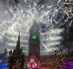 Manchester Town Hall - Christmas Lights Switch On