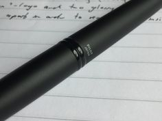 A review of the Pilot Capless Matte fountain pen. #pens #penaddict #fountainpen #fountainpens #pilot #pilotpen #pilotpens
