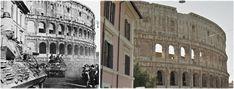 Truppe alleate entrano in  #Roma provenienti da Via di S. Giovanni in Laterano #GIUGNO1944