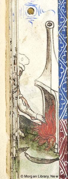 Book of Hours, MS M.866 fol. 12v - Images from Medieval and Renaissance Manuscripts - The Morgan Library & Museum