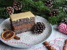 Makowe ciasto z kremem czekoladowym Tiramisu, Ethnic Recipes, Food, Essen, Meals, Tiramisu Cake, Yemek, Eten