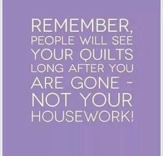 Wondered thought... Never have liked housework. Hate my house messy..cannot win…