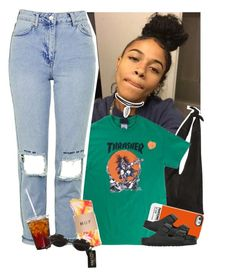 """""""Sep 18 """" by frezhstyle ❤ liked on Polyvore featuring The Row, Topshop, Case Scenario, Jean-Paul Gaultier, Birkenstock and PINTRILL"""