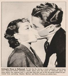 Antiseptic Kisses in Hollywood, 1937