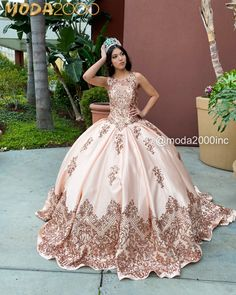 Informal showroom offering formal gowns for special events, including proms & quinceañeras. Book your appointment to say YES to your dream dress! 714 774 7537 845 N. Rose Gold Quinceanera Dresses, Neon Prom Dresses, Mexican Quinceanera Dresses, Dama Dresses, Quince Dresses, Ball Gown Dresses, Pageant Dresses, Sparkly Dresses, Masquerade Ball Gowns
