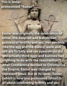 Correct information! Take a good hard look at this and tell me the church (true church, mother church) didn't screw up with taking pagan religions and adding it to our beliefs. It is time to seperate the chaff from the wheat and make sure that your faith is based on the bible, not man made dogma.