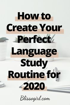 In this post I share with you some of my tips to help you create a personalized language study routine for Italian Language, German Language, Japanese Language, Chinese Language, French Language, Learn French, Learn English, German English, Language Study
