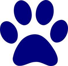 purple clip art purple paw print clip art vector clip art online rh pinterest com polar bear paw clipart bear claw clipart