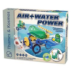 Air and Water Power Pneumatic Hydraulic Engines Kit