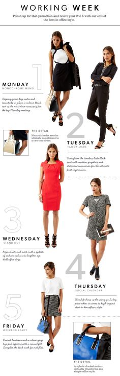 modern work wardrobe (you can plan your work week outfits virtually with Stylebook) #workwear #officestyle #workclothes