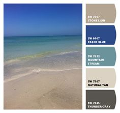 Chip It! by Sherwin-Williams – Beach colors