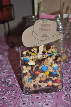 Happy Trails to You - Easy Retirement Party Decorations and Snack  all in one.