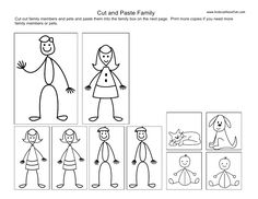 My Family Coloring Page Tracing and coloring page Twisty