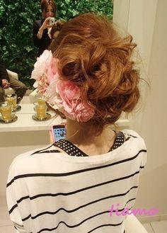「CUTEな花嫁さまのカールスタイル♡海外挙式リハ編♡」の画像 大人可愛いブライダルヘアメイク『tia…  Ameba (アメーバ)