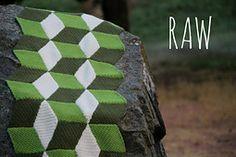 Ravelry: Vasarely blanket pattern by Mrs Purple