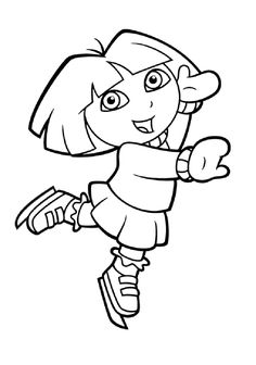 cartoon dora preschool s coloring pages printable and coloring book to print for free. Find more coloring pages online for kids and adults of cartoon dora preschool s coloring pages to print. Nick Jr Coloring Pages, Coloring Pages Winter, Preschool Coloring Pages, Easter Coloring Pages, Coloring Sheets For Kids, Alphabet Coloring Pages, Coloring Pages To Print, Colouring Pages, Printable Coloring Pages